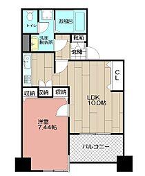サーパス大博通り(305)[305号室]の間取り