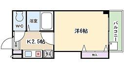 スタジオM[4階]の間取り