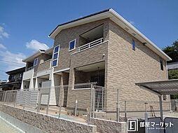 愛知県豊田市市木町谷耳太の賃貸アパートの外観