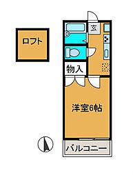 メゾンTM[2階]の間取り