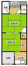 [タウンハウス] 大阪府寝屋川市寿町 の賃貸【/】の間取り