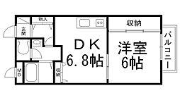 コンフォート岸和田[0105号室]の間取り