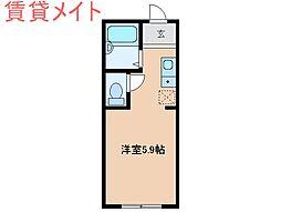 アイティーオー平田II北館[2階]の間取り