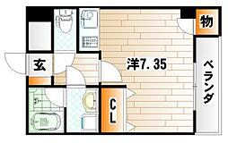 ピアーノKM21[2階]の間取り