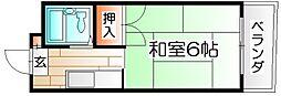 シャトレ柳町[2階]の間取り