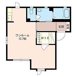 アネックスB[2階]の間取り