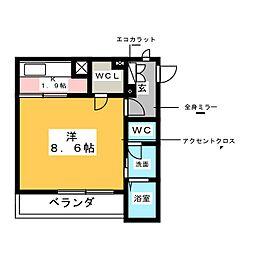 (仮称)瑞穂区東栄町5丁目新築工事[2階]の間取り