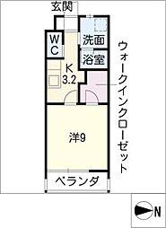 U・TOPIA PLAZA[2階]の間取り