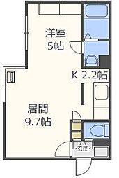 ComfortCity[2階]の間取り