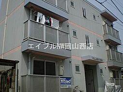 岡山県岡山市北区谷万成2丁目の賃貸マンションの外観