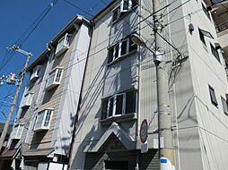 大阪府大阪市住之江区東加賀屋3丁目の賃貸マンションの外観