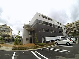 大阪府池田市神田3丁目の賃貸マンションの外観