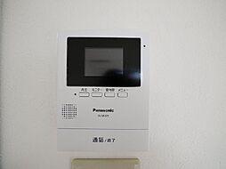 べラジオ南多久の来客時に便利、TVモニター付インターホン