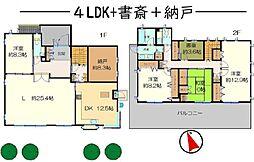 東京都杉並区南荻窪 4SLDKの間取り