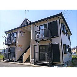 茨城県神栖市知手の賃貸アパートの外観