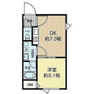 間取り,1DK,面積30.57m2,賃料4.5万円,,,北海道釧路市文苑2丁目36-18