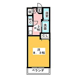 ラ・ステージ鎌倉台[1階]の間取り