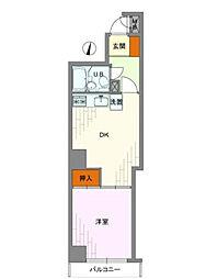 ライオンズマンション広尾第2[1階]の間取り