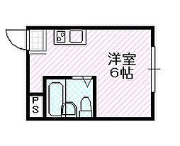 シャトーエムロード[6階]の間取り