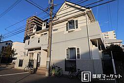 愛知県岡崎市明大寺町字池下の賃貸アパートの外観
