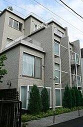 東京都港区白金台3丁目の賃貸マンションの外観