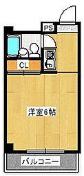 パレス桃山[2階]の間取り