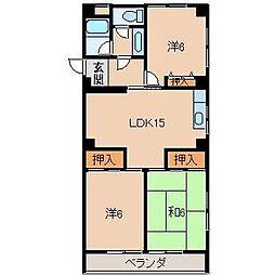 リゾートハウス貴志[4階]の間取り