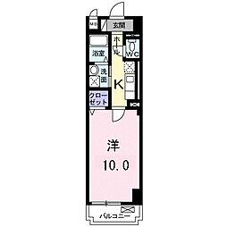 D・マローネ桂[3階]の間取り