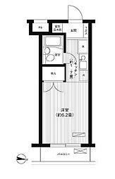 ピエールシークル[4階]の間取り