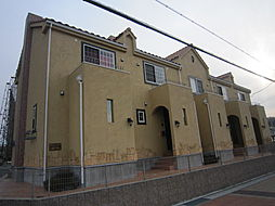 愛知県長久手市片平2丁目の賃貸アパートの外観
