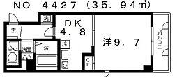 ベラヴィスタセイビ[4階]の間取り