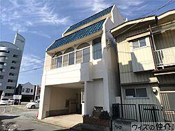 群馬県高崎市山田町の賃貸アパートの外観