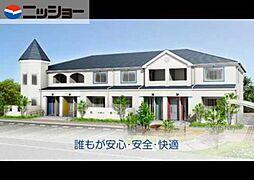 仮)弥富市前ヶ須町新築アパートA[2階]の外観