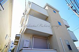 神奈川県大和市大和東3丁目の賃貸アパートの外観