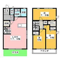 i-Biju[1階]の間取り