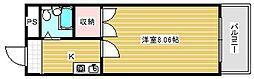辰巳ハイツ[1階]の間取り