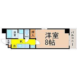 愛知県名古屋市千種区春岡1の賃貸マンションの間取り