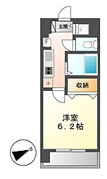 プレサンス名古屋城前ラバンカ[2階]の間取り