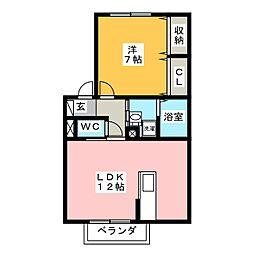DEAR COURT[2階]の間取り