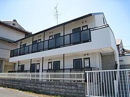 奈良県奈良市朱雀3丁目の賃貸アパートの外観