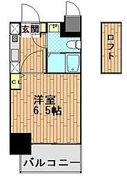 エステムコート神戸県庁前IVグランディオ[12階]の間取り