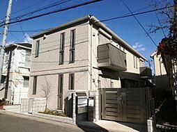 東京都世田谷区南烏山4の賃貸アパートの外観