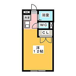パークサイドTAKAO[1階]の間取り