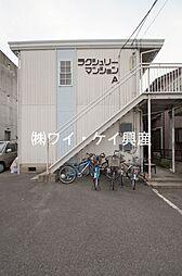ラクシュリーマンションA棟[201号室]の外観