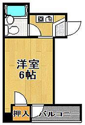 エスポワール43[5階]の間取り