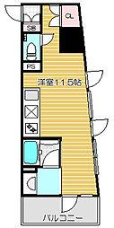ベルファース戸越スタティオ[8階]の間取り