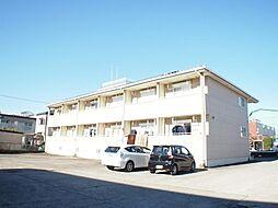 栃木県宇都宮市上大曽町の賃貸アパートの外観