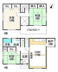 関西本線 大和小泉駅 徒歩14分