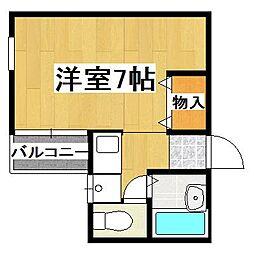 京都府京都市伏見区桃山福島太夫西町の賃貸アパートの間取り
