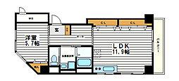 アーバン長堀ビル[5階]の間取り